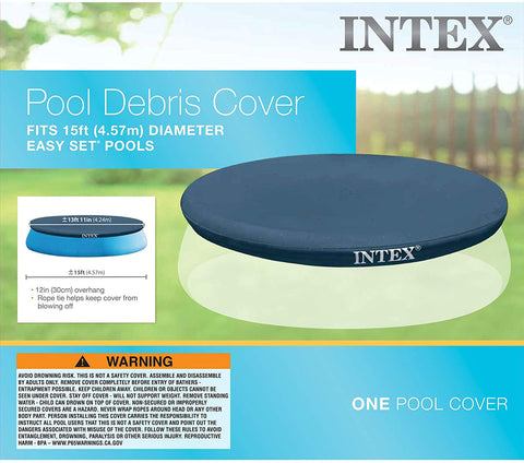 Intex Easy Set 15-Foot Pool Cover
