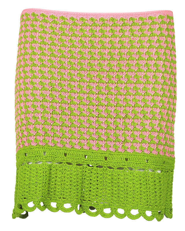 Ultimate Crochet Mini Skirt