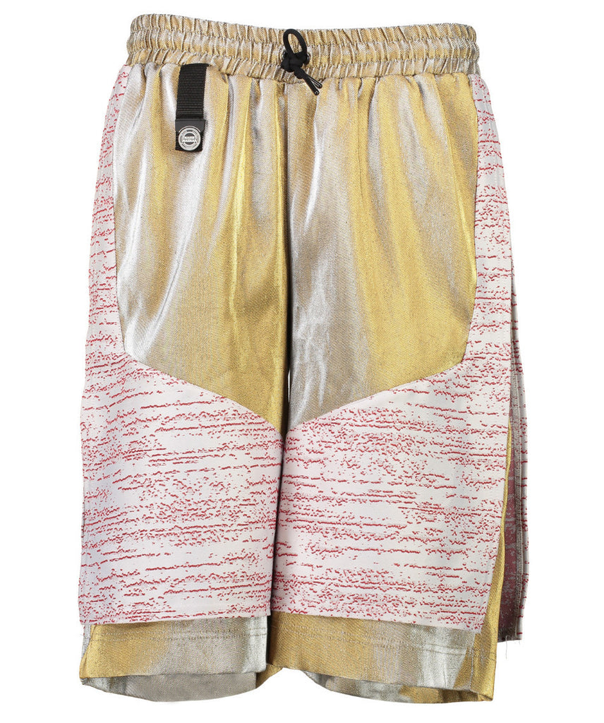 Safari Shorts with Gold