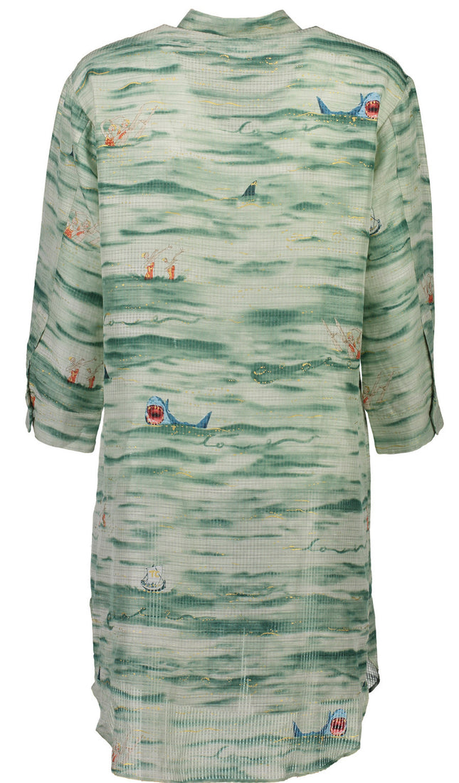 Under the Sea Shirt Dress