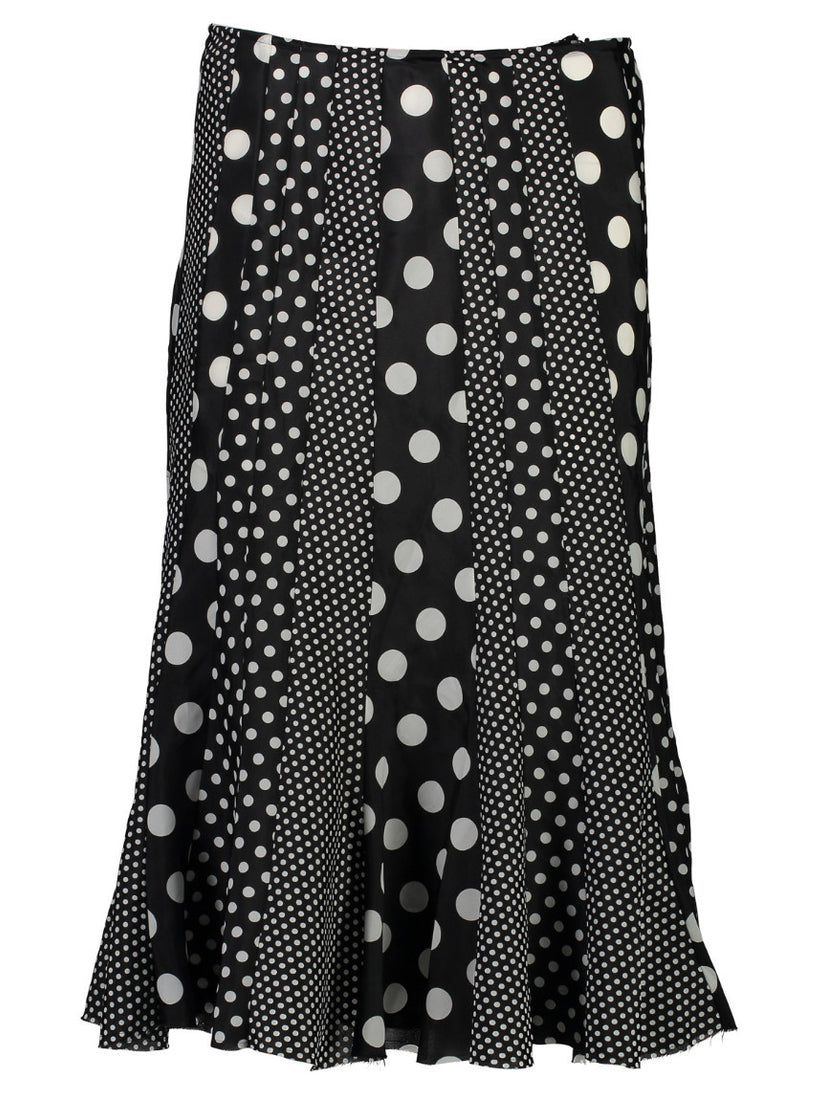 Many Dots Swing Skirt