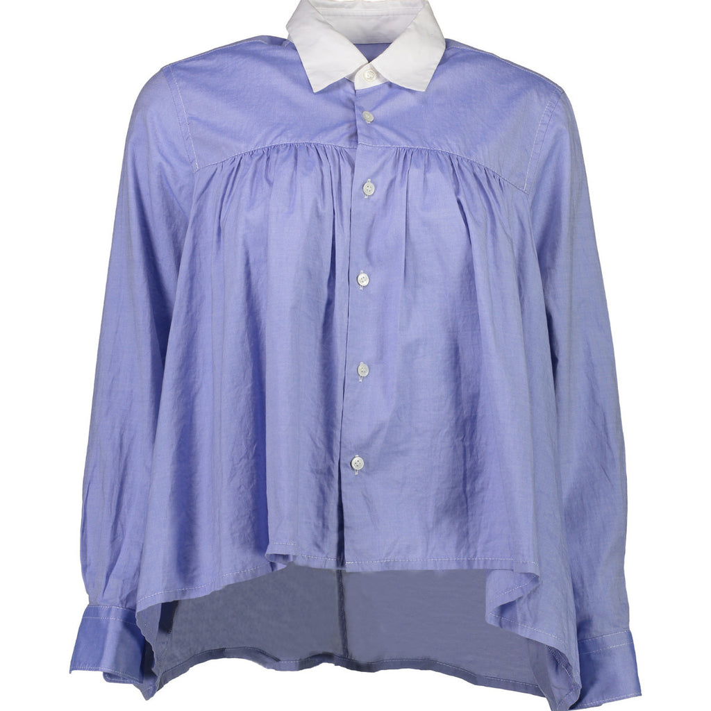 Cropped School Blouse