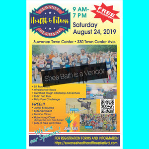 Suwanee Health & Fitness Expo 8-24-19