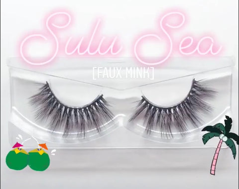 'Sulu Sea' Silk lashes