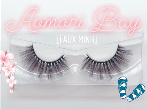 'Aomari Bay' Silk lashes