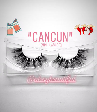 'Cancun' Siberian Mink lashes