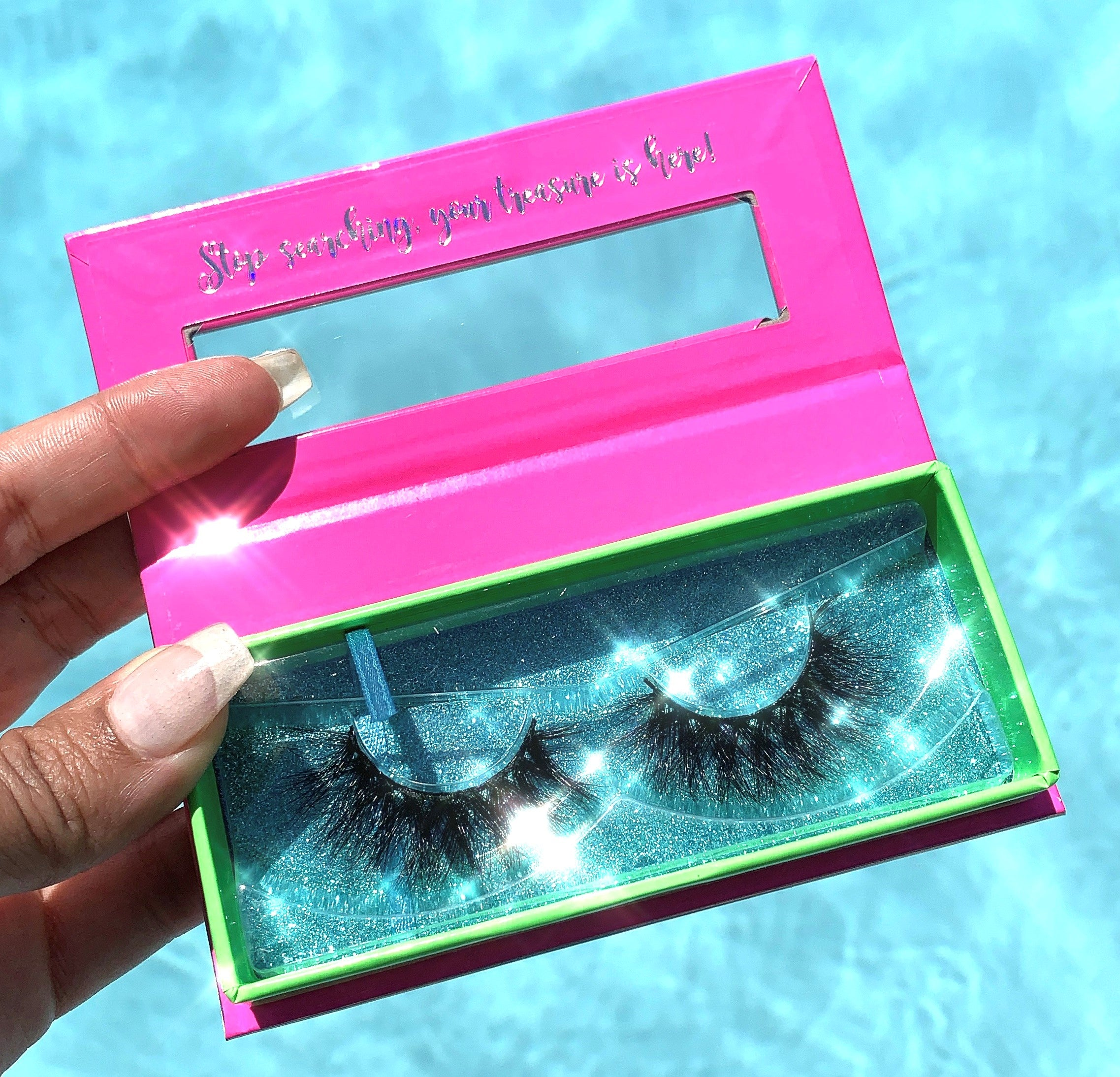 Sandcastle Vacation Luxury Mink Lashes