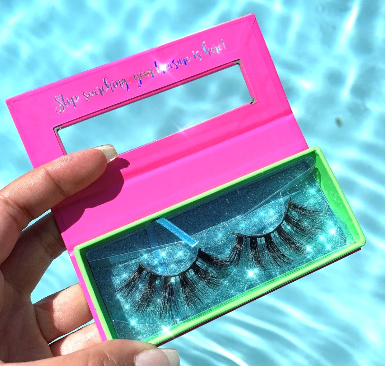 Beach Babe Vacation Luxury Mink Lashes
