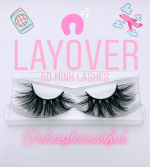 Layover Vacation Luxury Mink Lashes