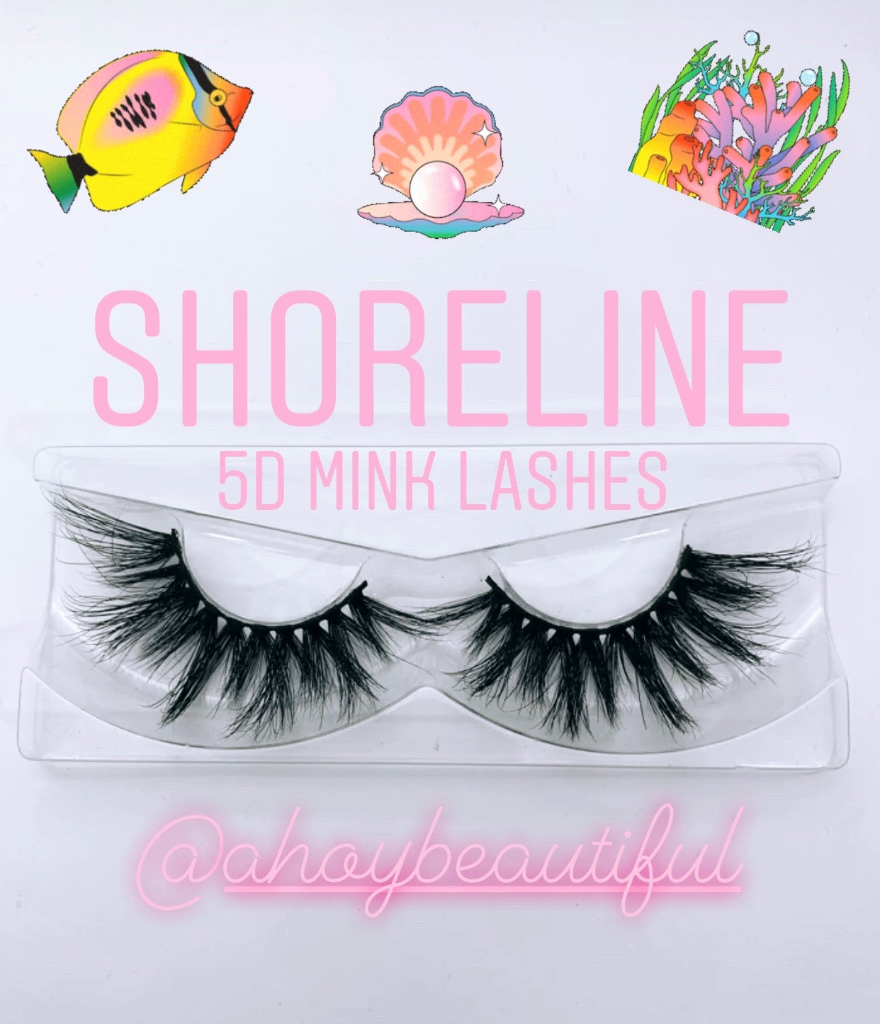 Shoreline Vacation Luxury Mink Lashes