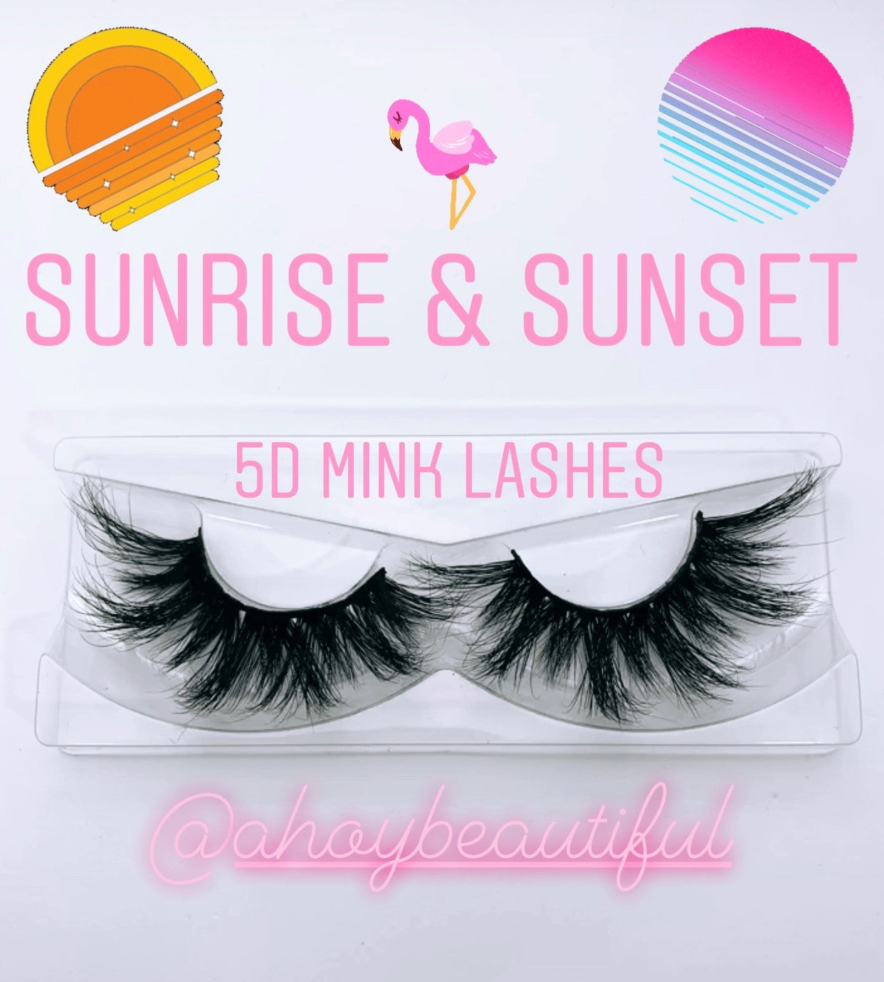 Sunrise & Sunset Vacation Luxury Mink Lashes