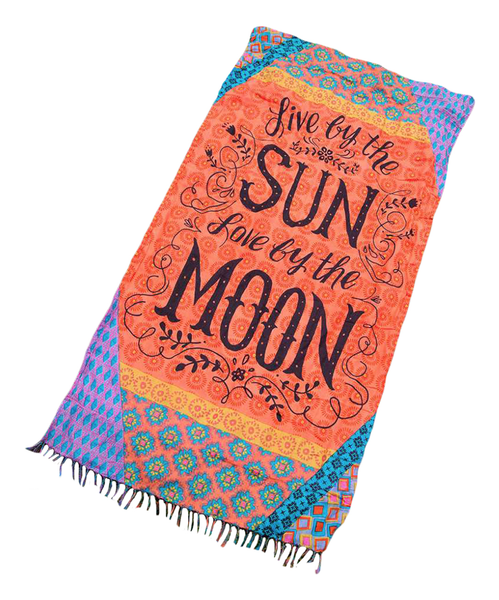 Sun & Moon Beach Towel Blanket - Zoni