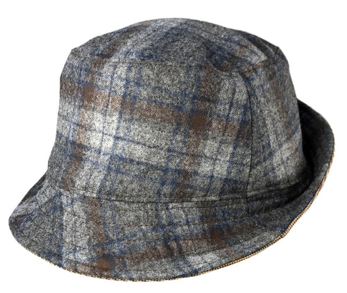 Eco Reversible Wool Bucket Hat