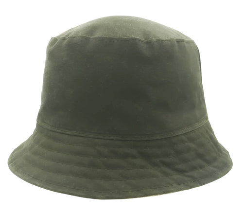 Eco Reversible Canvas Bucket Hat