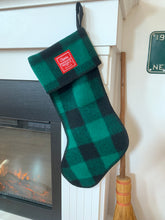Wool Christmas Stocking