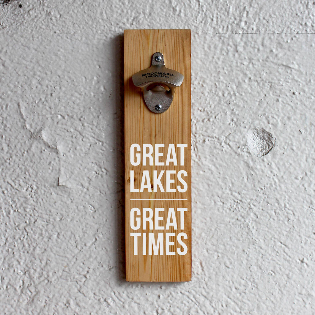 Great Lake Great Times Bottle Opener