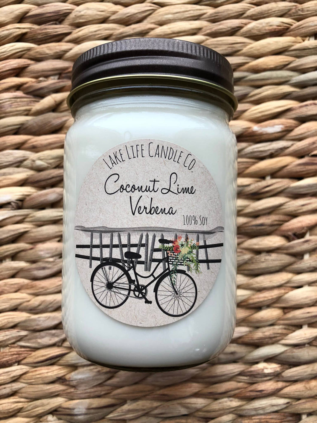 Coconut Lime Verbena Candle