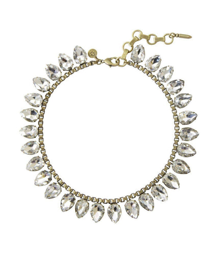 Crystal Sylvia Necklace