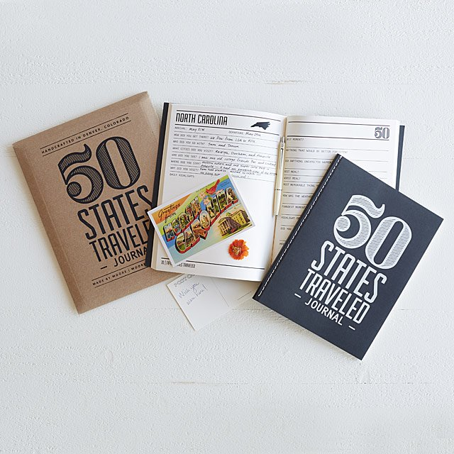 50 States Travel Journal