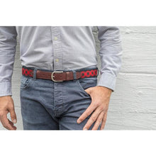 Belted Cow Buffalo Plaid Belt