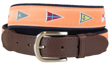 Nautical Burgee Belt