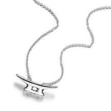 Silver Cleat Necklace