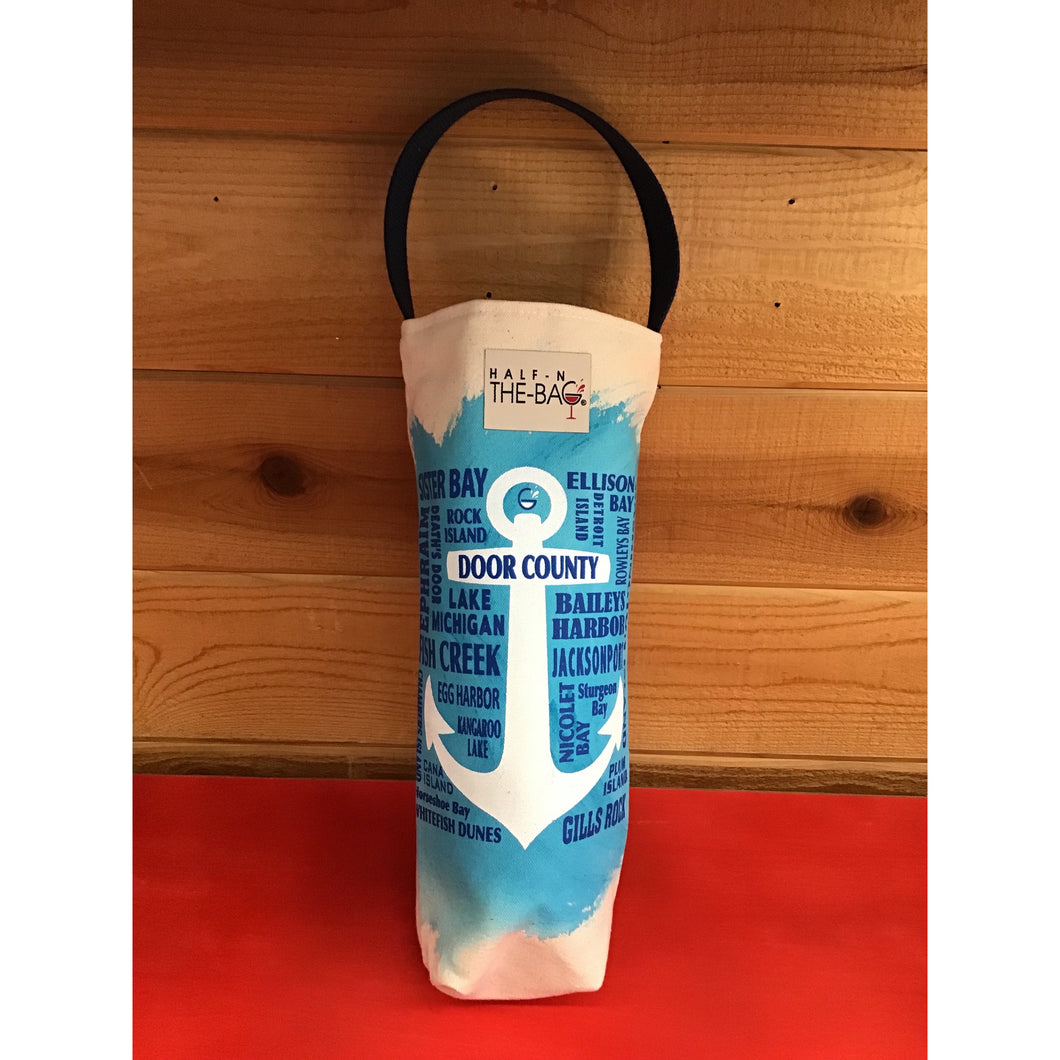 Half-n-the-Bag Door County Insulated Wine Bag