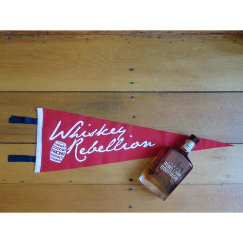 Whiskey Rebellion Felt Pennant