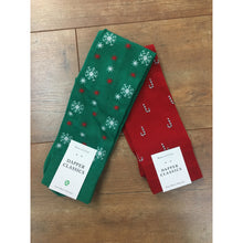 Holiday Snowflake Socks