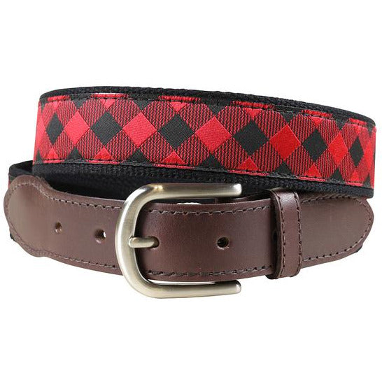 Buffalo Plaid Belt