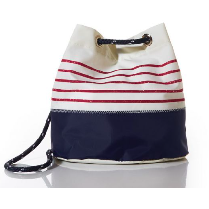 Recycled Sail Double Strap Bag