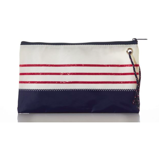 Recycled Sail Large Wristlet Bag