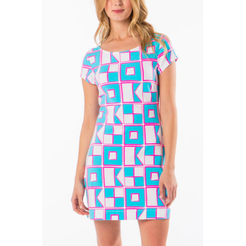 USA Nautical Flag Dress
