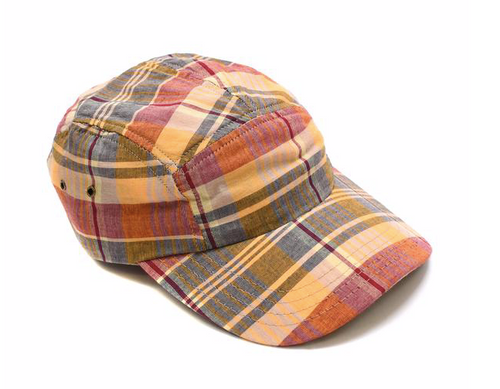 Madras Plaid Ball Cap