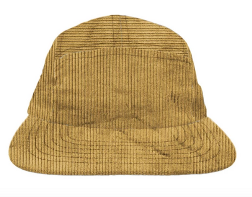 Corduroy Eco-Camp Cap