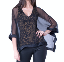 Butterfly Leopard Top