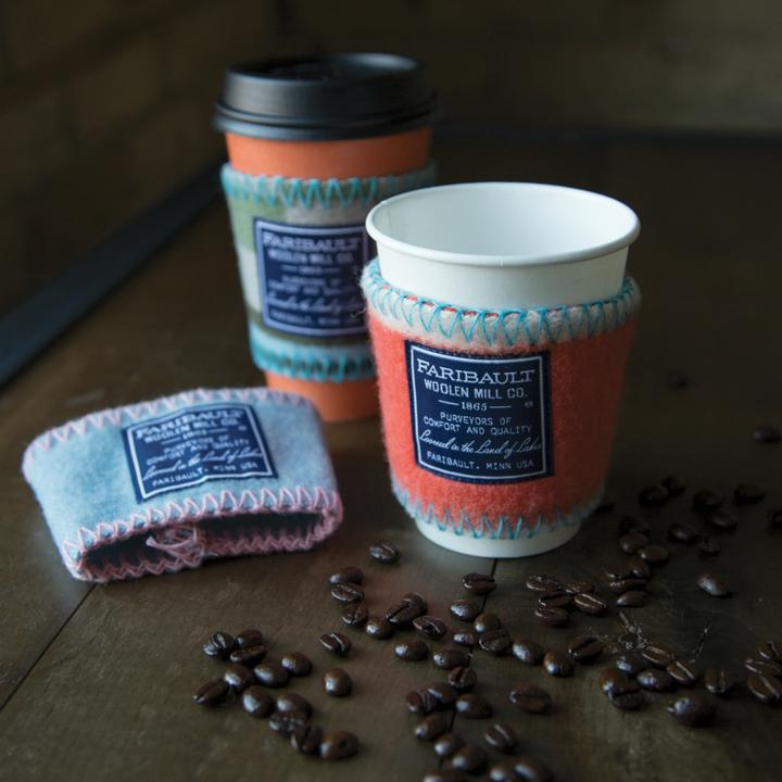 Wool Remnant Coffee Sleeve