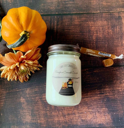 Pumpkin Caramel Crunch Candle