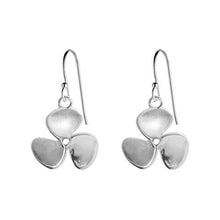 Silver Classic Propeller Earrings