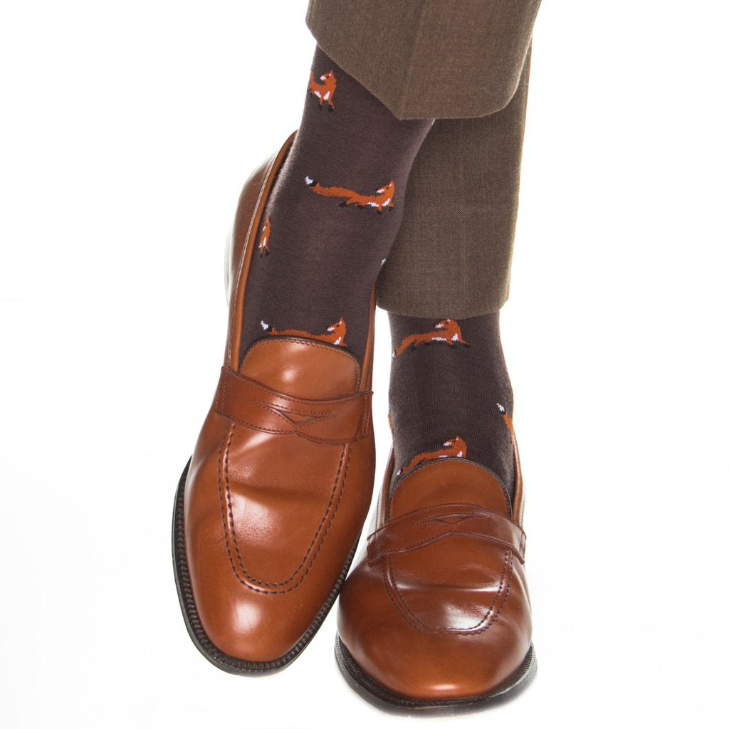 Fox Wool Socks