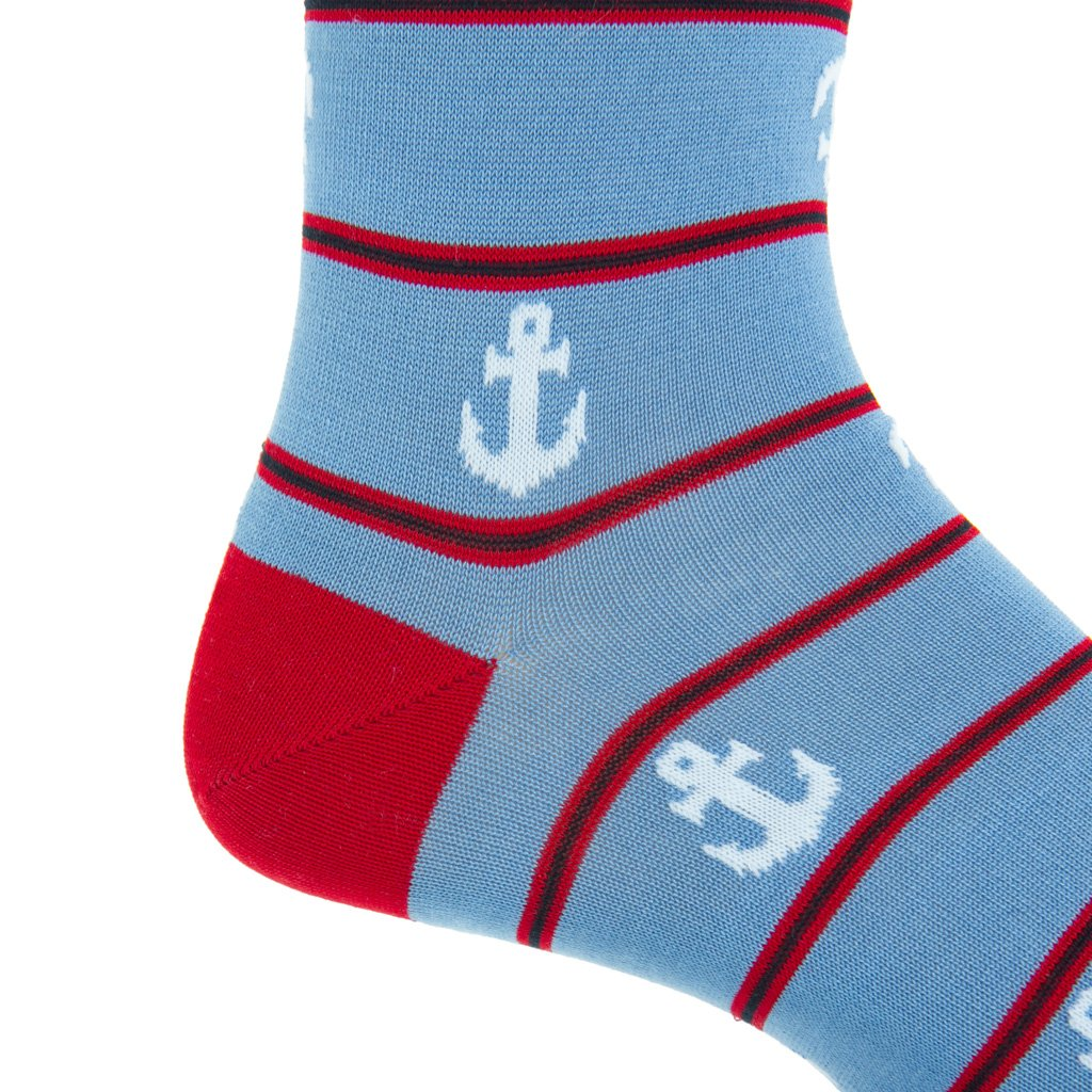 Anchor Dress Socks