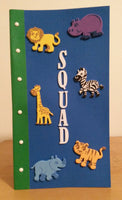 SQUAD notebook - Wonders of the World Book and Toy Store