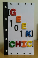 GEEK CHIC 101 notebook - Wonders of the World Book and Toy Store