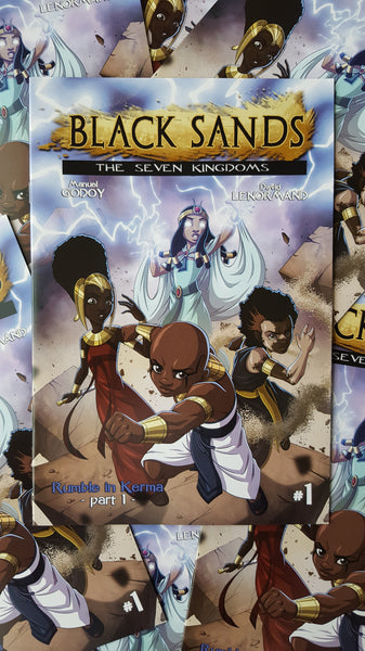 "Black Sands: The Seven Kingdoms ""Rumble in Kerma"" Part 1 - Wonders of the World Book and Toy Store"