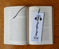 "Hip hop inspired ""OPP"" bookmark"