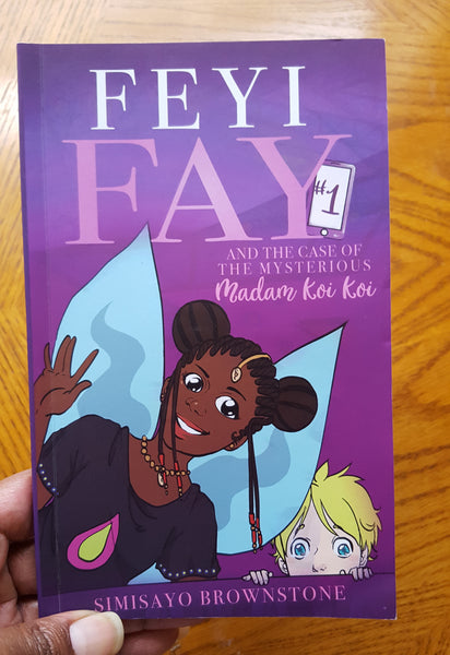 Feyi Fay and the Case of the Mysterious Madam Koi Koi - Volume 1 - Wonders of the World Book and Toy Store