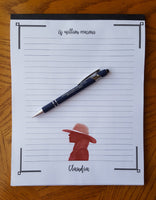 Custom notepad - Wonders of the World Book and Toy Store