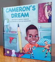 Cameron's Dream by Candace Johnson - Wonders of the World Book and Toy Store