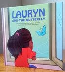 Lauryn and the Butterfly by Candace Johnson-Barrett - Wonders of the World Book and Toy Store