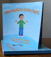 Cooking with Dad / Cocinando Con Papá - Wonders of the World Book and Toy Store